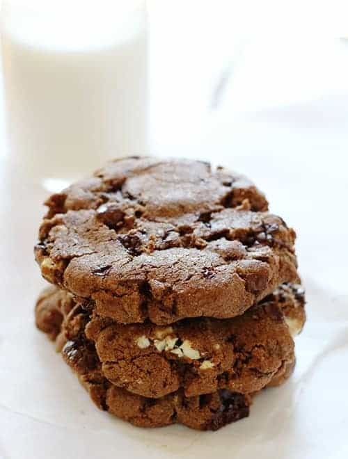 Chocolate Chocolate Chip Cookie!