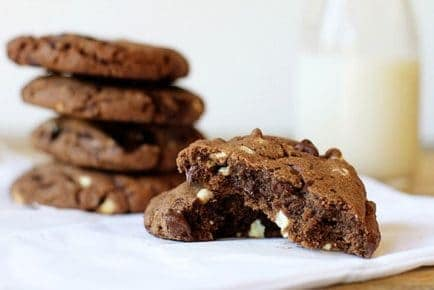 Chocolate Chocolate Chip Cookies!