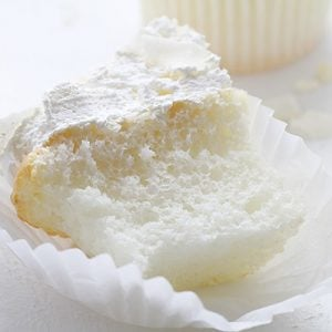 Coconut Angel Food Cupcakes!
