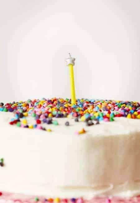 Surprise-Inside First Birthday Cake!
