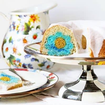 Vanilla Bundt Cake with Vanilla Glaze!