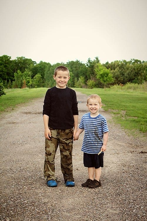 Parker and Eddie 2014