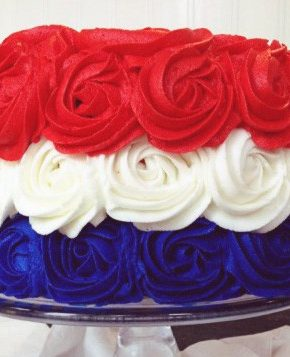 Patriotic Rose Cake (the Original!)