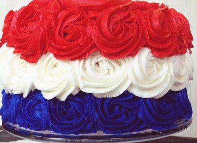 Patriotic Rose Cake (the Original!)