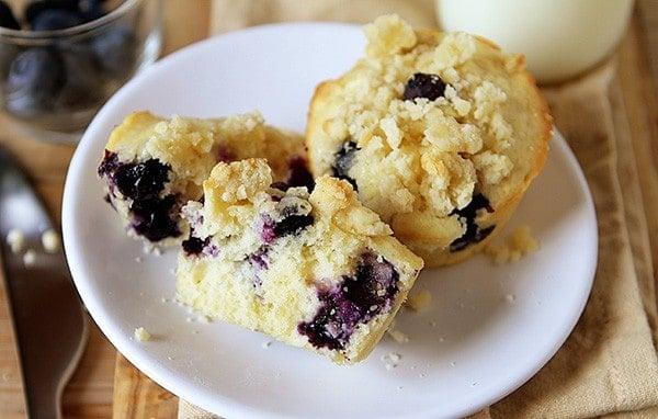 Blueberry Pie Muffin Recipe