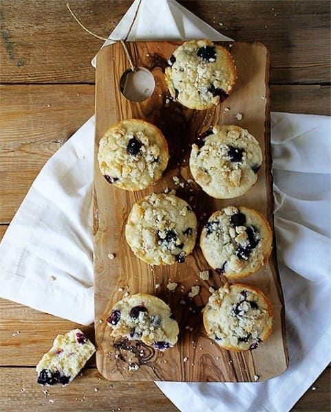 Easy Blueberry Muffin Recipe