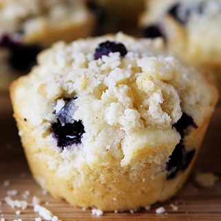 blueberry pie muffins