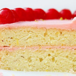 Cherry Limeade Cake!