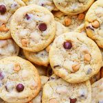 classic chocolate chip and peanut butter chip cookies