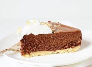 Rich Chocolate Truffle Pie!