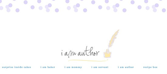 i am author header