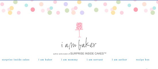 i am baker header