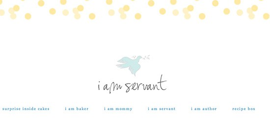 i am servant header