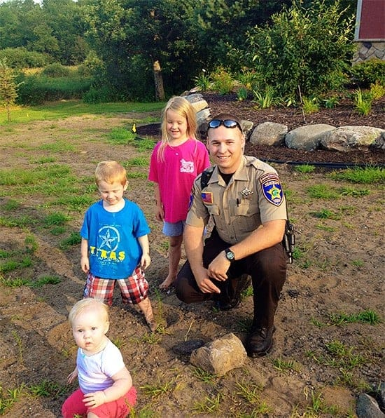 Officer Nick and Kids