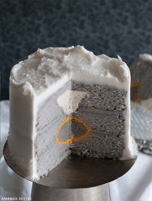 Ring Surprise Inside Cake!
