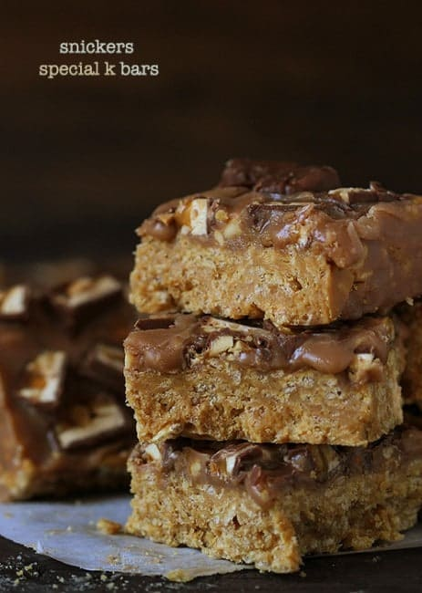 Snickers Special-K Bars!