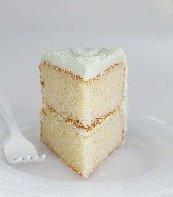 The Lightest Fluffiest White Cake