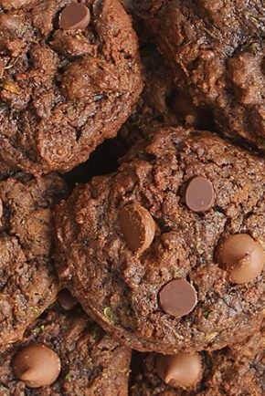 Triple Chocolate Zucchini Cookies!
