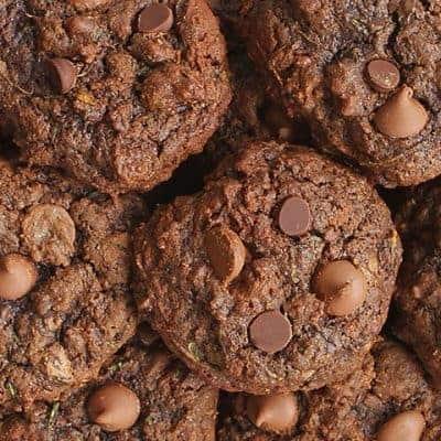 Triple Chocolate Zucchini Cookies!