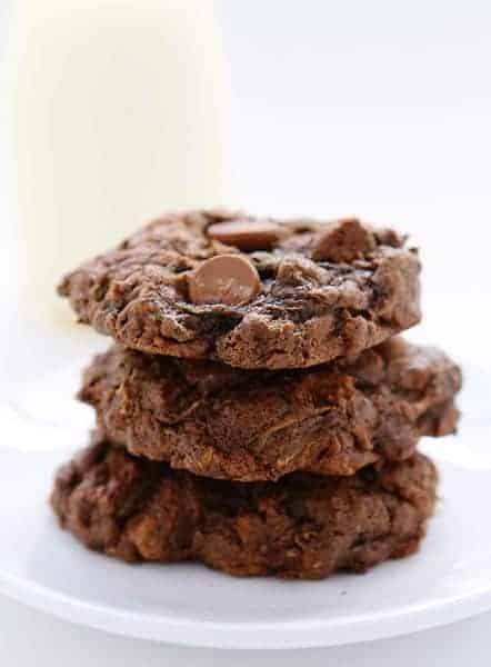 Chocolate Zucchini Cookies!
