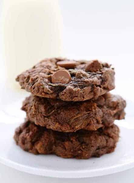 Chocolate Zucchini Cookies!