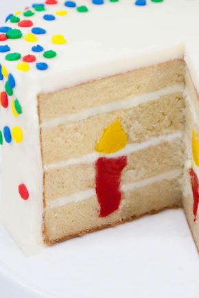 Candle Surprise-Inside Cake!