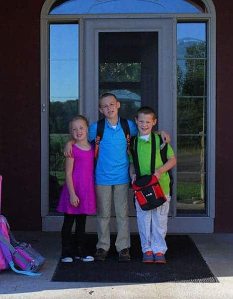 Rettke Kids first day of school 2014