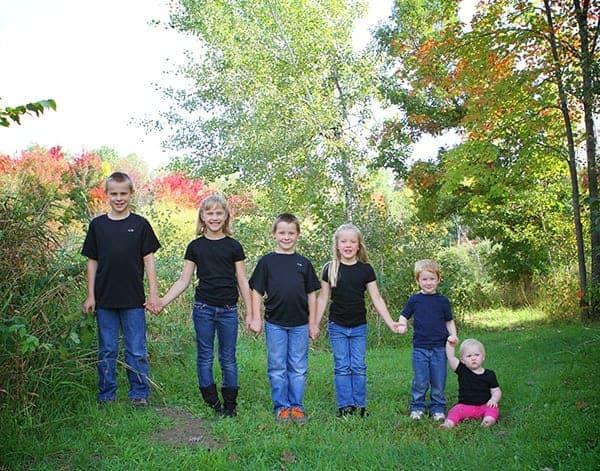 My Kids and Cousin Inga