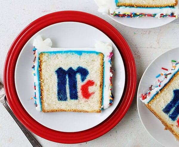 McCormick Logo Surprise-Inside Cake!