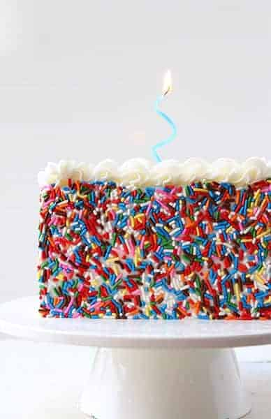 McCormick Logo Surprise-Inside Cake!