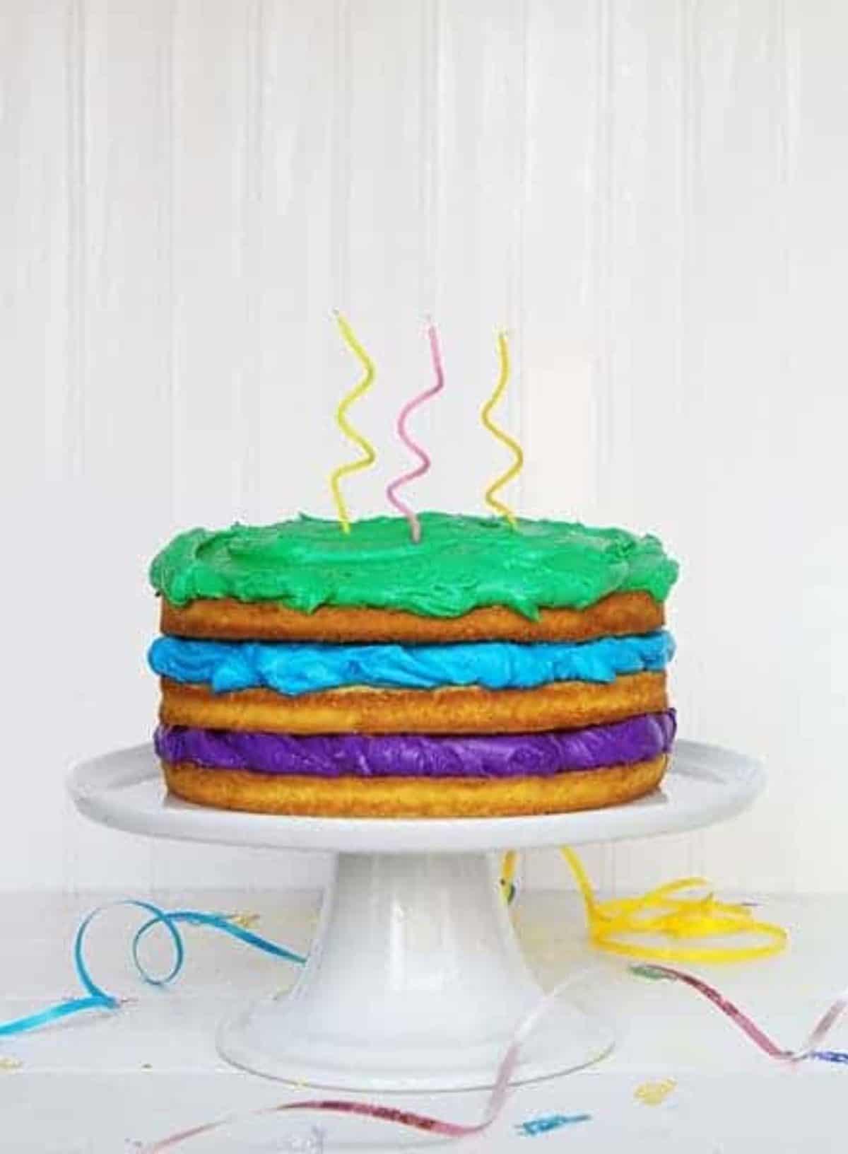Admirable Happy Birthday Naked Cake I Am Baker Funny Birthday Cards Online Elaedamsfinfo