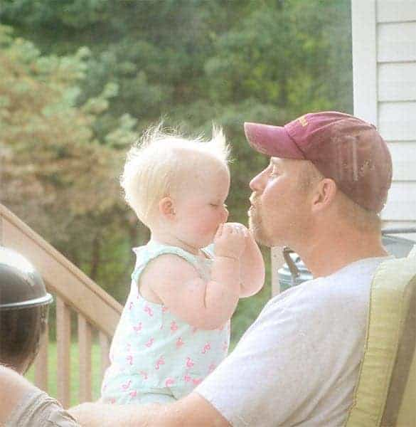 Olivia and Daddy
