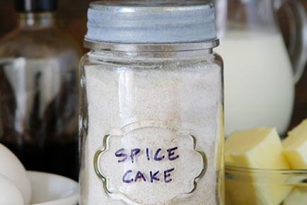 Homemade Spice Cake Mix