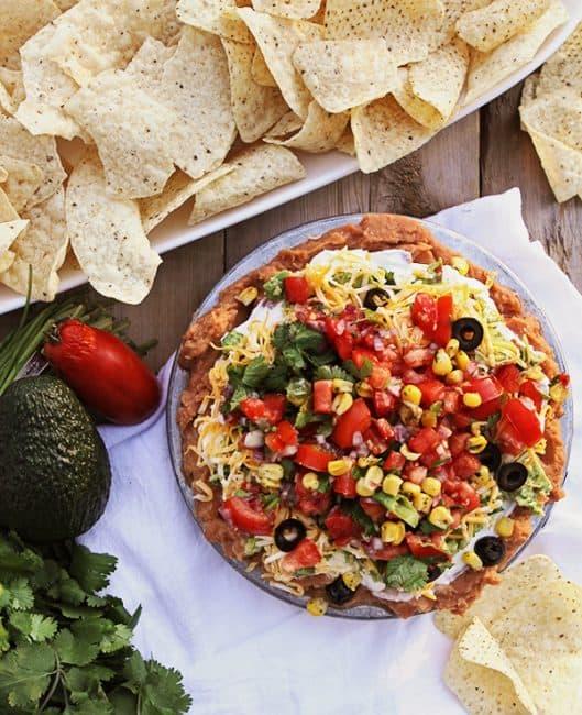 Eight-Layer Dip Recipe