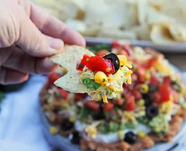 Easy Appetizer: Eight-Layer Dip