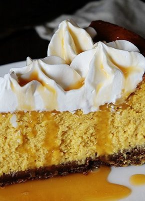 Cheesecake Factory Pumpkin Cheesecake Recipe with Chocolate Crust!