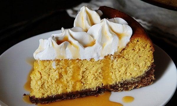 Pumpkin Cheesecake with Chocolate Crust