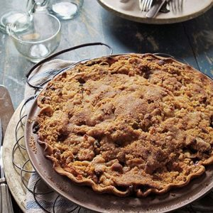 French Apple-Cranberry Pie!