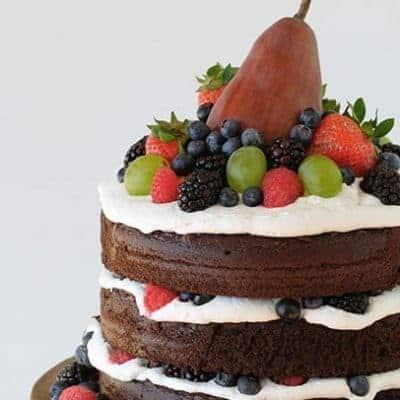 Naked Fruit Cake!