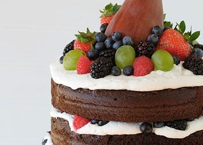 Naked Fruit Cake!