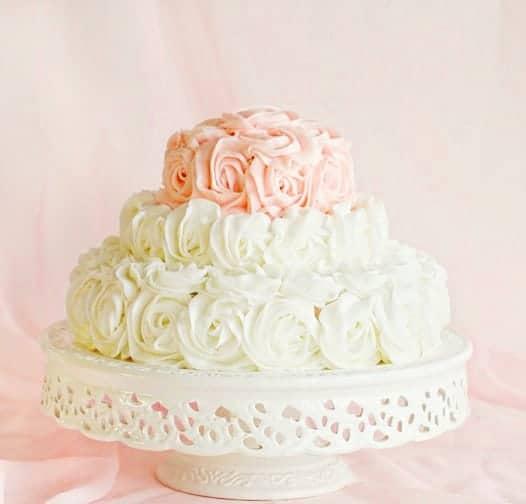 Rosette Birthday Cake!