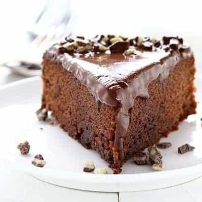 Chocolate Peppermint Cake!