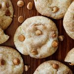butterscotch peanut butter snickerdoodles