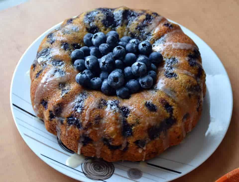 Lemon Blueberry Bundt Cake I Am Baker
