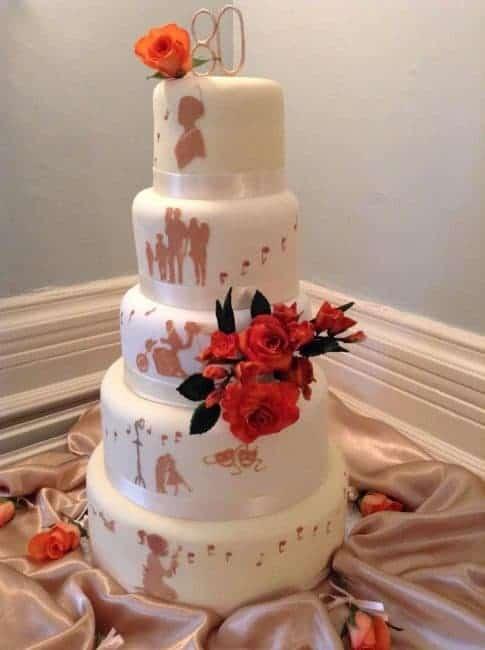 80th Birthday Cake I Am Baker