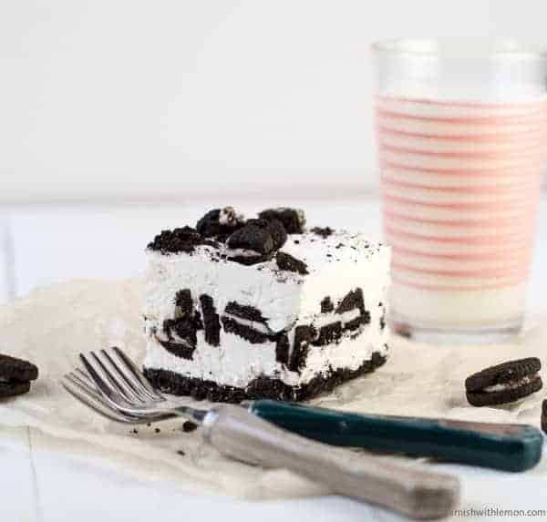 ... These No Bake Cookies and Cream Cheesecake Bars are a crowd pleaser