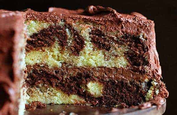 The Perfect Marble Cake