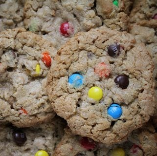 old fashioned monster cookies