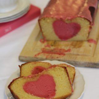 Surprise-Inside Strawberry Pouncake