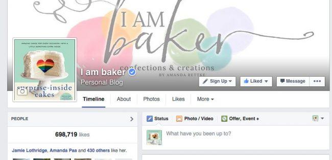 iambaker facebok page